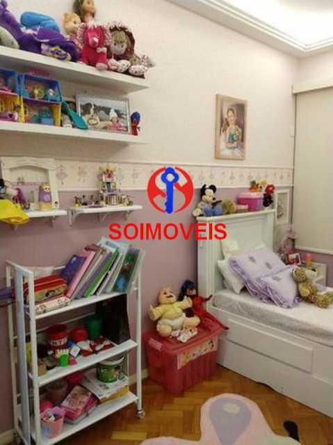 Quarto 2 - Apartamento 4 quartos à venda Rio Comprido, Rio de Janeiro - R$ 630.000 - TJAP40035 - 8