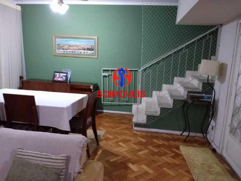 Sala - Apartamento 4 quartos à venda Rio Comprido, Rio de Janeiro - R$ 630.000 - TJAP40035 - 3