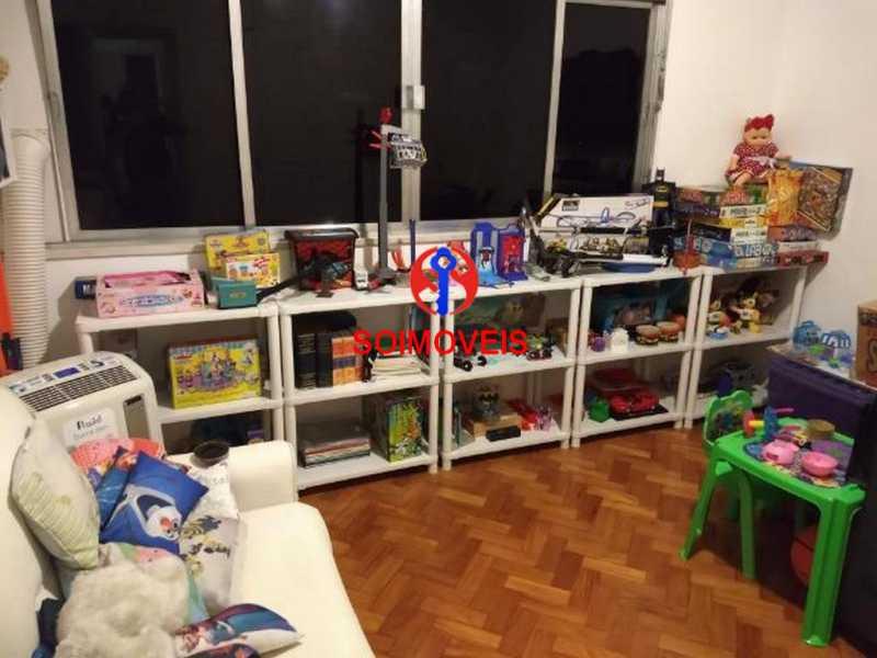 Quarto 3 - Apartamento 4 quartos à venda Rio Comprido, Rio de Janeiro - R$ 630.000 - TJAP40035 - 13