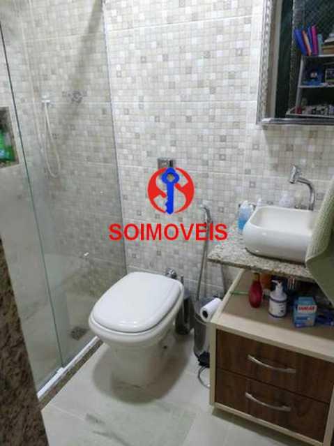 Banheiro da suíte - Apartamento 4 quartos à venda Rio Comprido, Rio de Janeiro - R$ 630.000 - TJAP40035 - 18