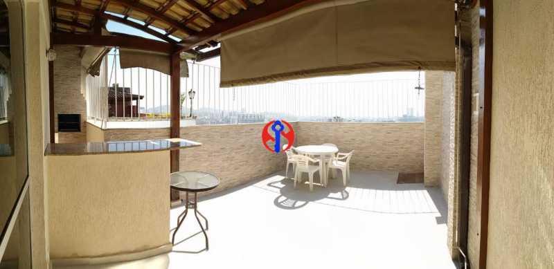 imagem1 Cópia - Cobertura 3 quartos à venda Rio Comprido, Rio de Janeiro - R$ 670.000 - TJCO30038 - 6