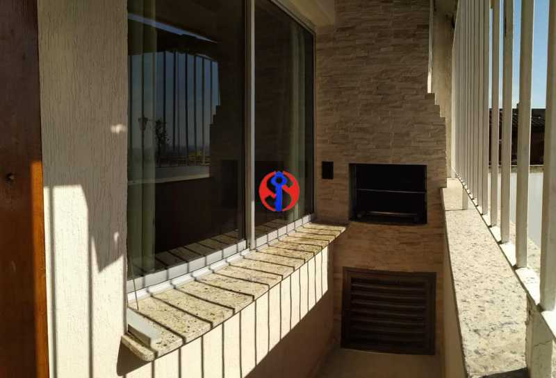 imagem4 Cópia - Cobertura 3 quartos à venda Rio Comprido, Rio de Janeiro - R$ 670.000 - TJCO30038 - 9