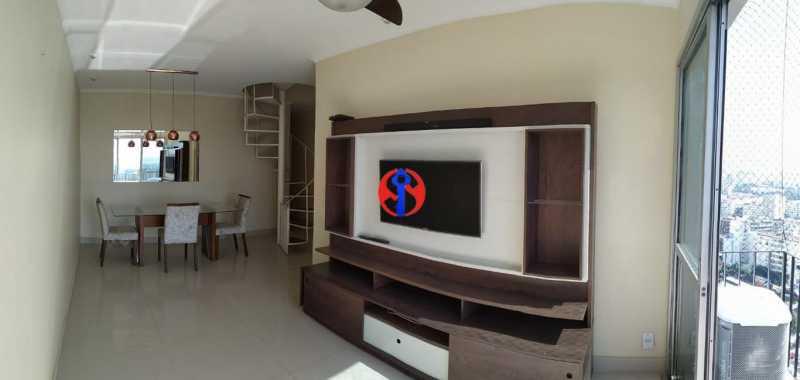 imagem7 Cópia - Cobertura 3 quartos à venda Rio Comprido, Rio de Janeiro - R$ 670.000 - TJCO30038 - 4