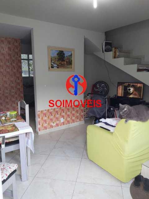 Sala - Casa de Vila 2 quartos à venda Quintino Bocaiúva, Rio de Janeiro - R$ 250.000 - TJCV20083 - 3