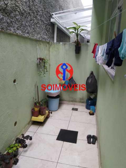 Área de serviço - Casa de Vila 2 quartos à venda Quintino Bocaiúva, Rio de Janeiro - R$ 250.000 - TJCV20083 - 9