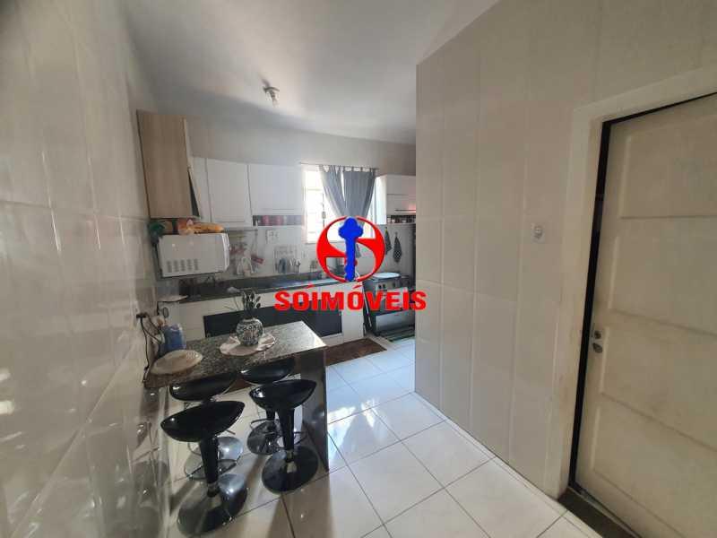 COZINHA - Casa 3 quartos à venda Engenho de Dentro, Rio de Janeiro - R$ 500.000 - TJCA30061 - 4