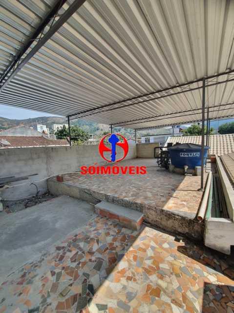 TERRAÇO - Casa 3 quartos à venda Engenho de Dentro, Rio de Janeiro - R$ 500.000 - TJCA30061 - 23
