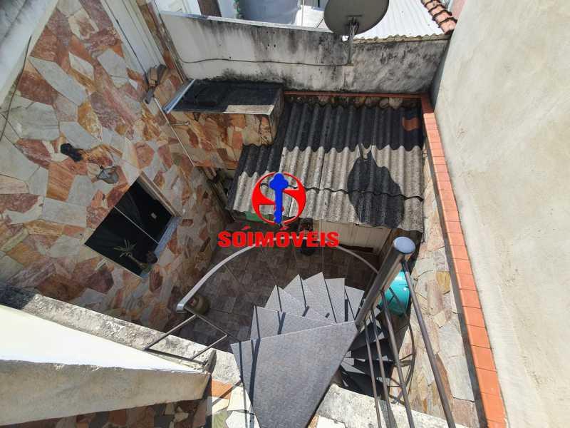 VISTA - Casa 3 quartos à venda Engenho de Dentro, Rio de Janeiro - R$ 500.000 - TJCA30061 - 24
