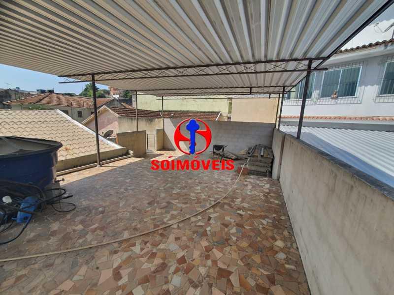 TERRAÇO - Casa 3 quartos à venda Engenho de Dentro, Rio de Janeiro - R$ 500.000 - TJCA30061 - 25