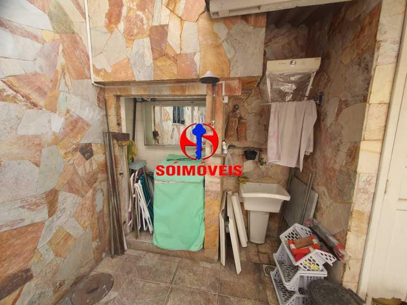 ÁREA DE SERVIÇO - Casa 3 quartos à venda Engenho de Dentro, Rio de Janeiro - R$ 500.000 - TJCA30061 - 17