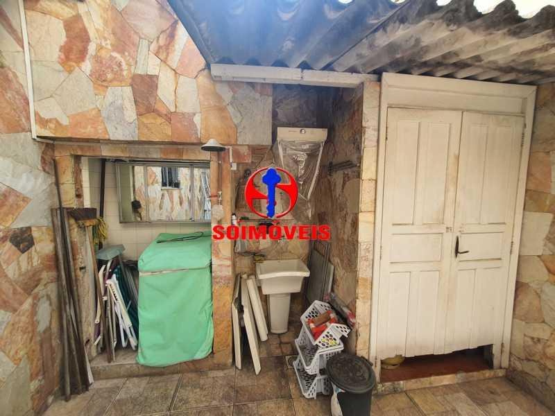 ÁREA DE SERVIÇO - Casa 3 quartos à venda Engenho de Dentro, Rio de Janeiro - R$ 500.000 - TJCA30061 - 18