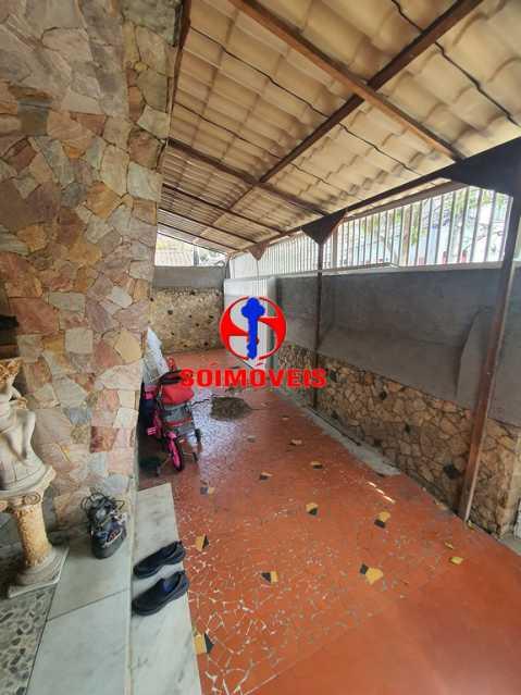 VARANDA COBERTA - Casa 3 quartos à venda Engenho de Dentro, Rio de Janeiro - R$ 500.000 - TJCA30061 - 26