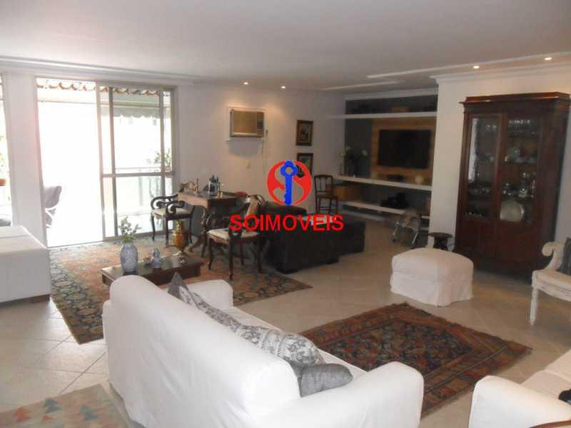 sl - Apartamento 3 quartos à venda Barra da Tijuca, Rio de Janeiro - R$ 2.780.000 - TJAP30511 - 1
