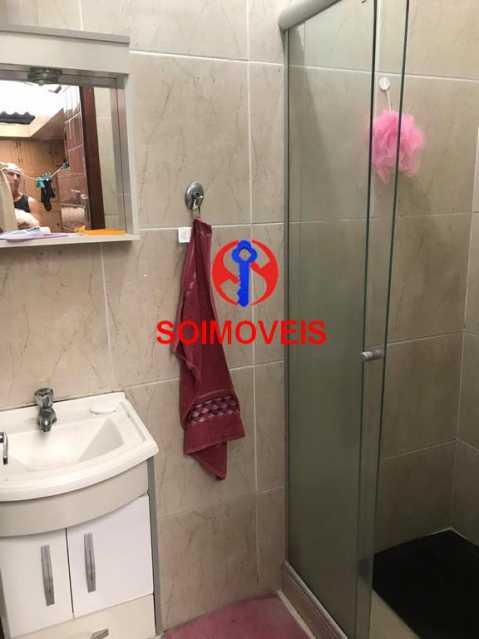 Banheiro de serviço - Casa em Condomínio 3 quartos à venda Cachambi, Rio de Janeiro - R$ 690.000 - TJCN30014 - 8