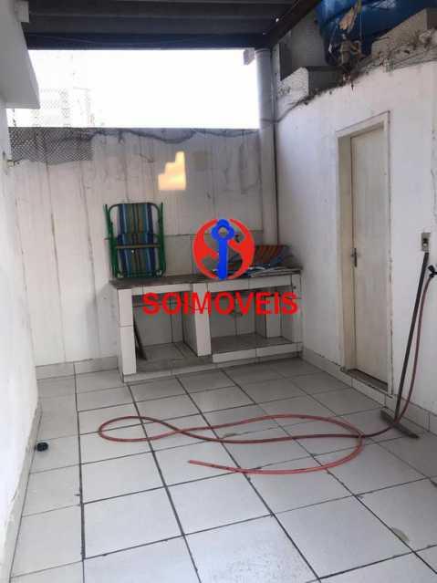 Terraço - Casa em Condomínio 3 quartos à venda Cachambi, Rio de Janeiro - R$ 690.000 - TJCN30014 - 20