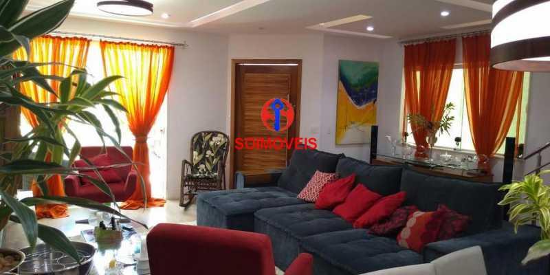 Sala - Casa 4 quartos à venda Grajaú, Rio de Janeiro - R$ 1.265.000 - TJCA40032 - 4