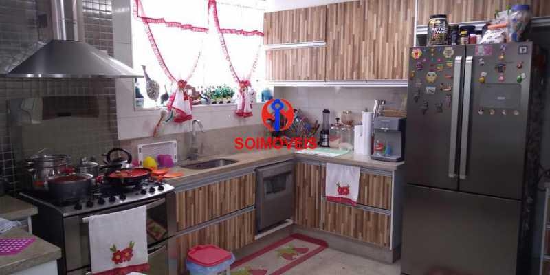 Cozinha - Casa 4 quartos à venda Grajaú, Rio de Janeiro - R$ 1.265.000 - TJCA40032 - 17