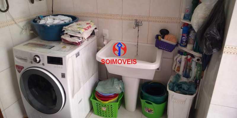 Área de serviço - Casa 4 quartos à venda Grajaú, Rio de Janeiro - R$ 1.265.000 - TJCA40032 - 25