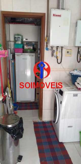 Área de serviço - Casa 4 quartos à venda Grajaú, Rio de Janeiro - R$ 1.265.000 - TJCA40032 - 24