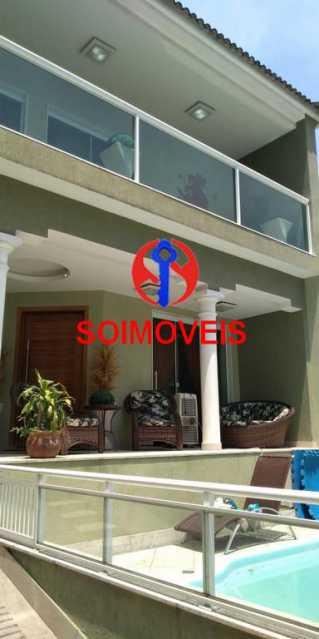 Frente - Casa 4 quartos à venda Grajaú, Rio de Janeiro - R$ 1.265.000 - TJCA40032 - 30