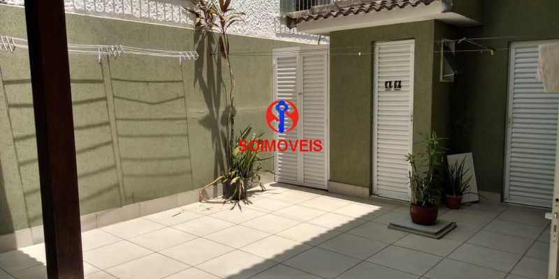 Área gourmet - Casa 4 quartos à venda Grajaú, Rio de Janeiro - R$ 1.265.000 - TJCA40032 - 28