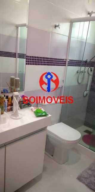 Banheiro suíte 3 - Casa 4 quartos à venda Grajaú, Rio de Janeiro - R$ 1.265.000 - TJCA40032 - 22