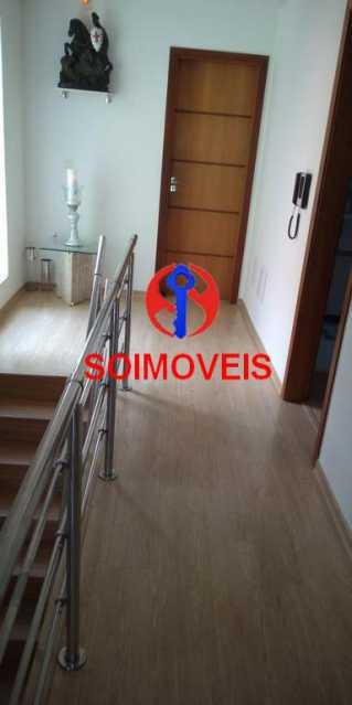 Acesso as suítes - Casa 4 quartos à venda Grajaú, Rio de Janeiro - R$ 1.265.000 - TJCA40032 - 5
