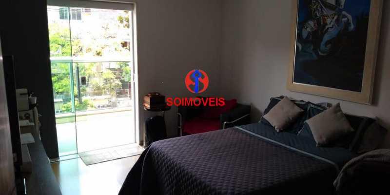 Suíte 1 - Casa 4 quartos à venda Grajaú, Rio de Janeiro - R$ 1.265.000 - TJCA40032 - 6