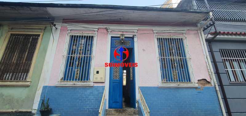 FACHADA - Casa de Vila 3 quartos à venda Maracanã, Rio de Janeiro - R$ 530.000 - TJCV30062 - 1