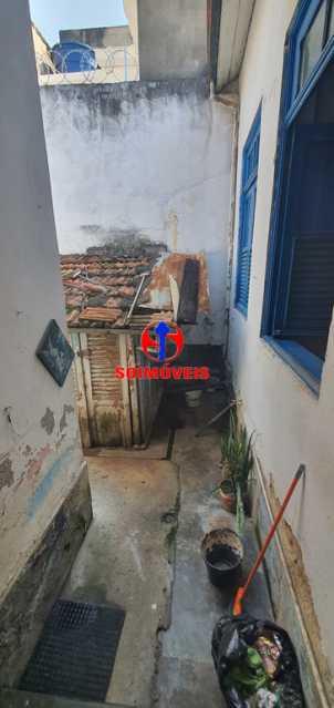 ÁREA EXTERNA - Casa de Vila 3 quartos à venda Maracanã, Rio de Janeiro - R$ 530.000 - TJCV30062 - 13