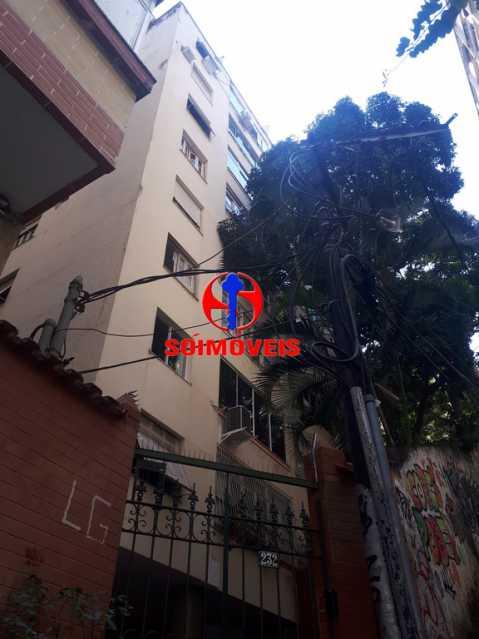 FACHADA - Apartamento 2 quartos à venda Copacabana, Rio de Janeiro - R$ 595.000 - TJAP21164 - 3