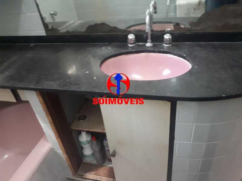 BANHEIRO SOCIAL - Apartamento 2 quartos à venda Copacabana, Rio de Janeiro - R$ 595.000 - TJAP21164 - 19