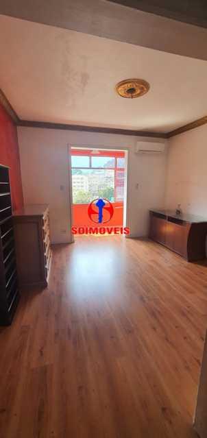 SALA COM VARANDA - Apartamento 2 quartos à venda Rio Comprido, Rio de Janeiro - R$ 255.000 - TJAP21165 - 3
