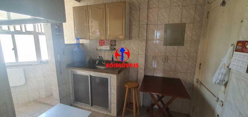 COZINHA - Apartamento 2 quartos à venda Rio Comprido, Rio de Janeiro - R$ 255.000 - TJAP21165 - 8