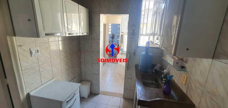 COZINHA - Apartamento 2 quartos à venda Rio Comprido, Rio de Janeiro - R$ 255.000 - TJAP21165 - 9