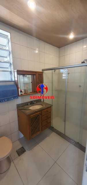 BANHEIRO SOCIAL - Apartamento 2 quartos à venda Rio Comprido, Rio de Janeiro - R$ 255.000 - TJAP21165 - 18