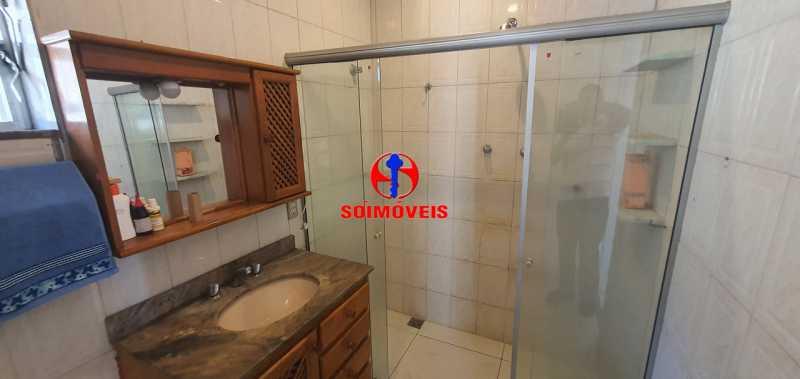 BANHEIRO SOCIAL - Apartamento 2 quartos à venda Rio Comprido, Rio de Janeiro - R$ 255.000 - TJAP21165 - 19