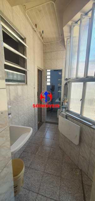 ÁREA DE SERVIÇO - Apartamento 2 quartos à venda Rio Comprido, Rio de Janeiro - R$ 255.000 - TJAP21165 - 21
