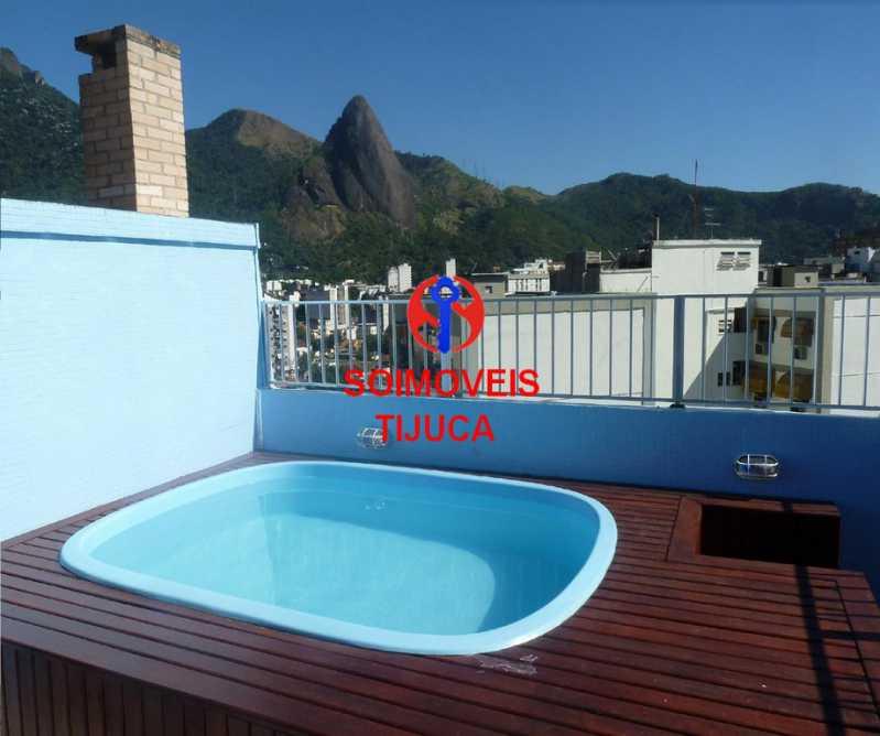 0-terr - Cobertura 2 quartos à venda Grajaú, Rio de Janeiro - R$ 780.000 - TJCO20023 - 1