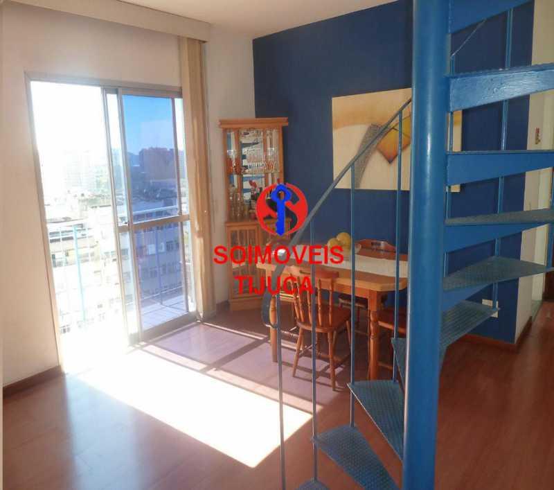 1-sl - Cobertura 2 quartos à venda Grajaú, Rio de Janeiro - R$ 780.000 - TJCO20023 - 3