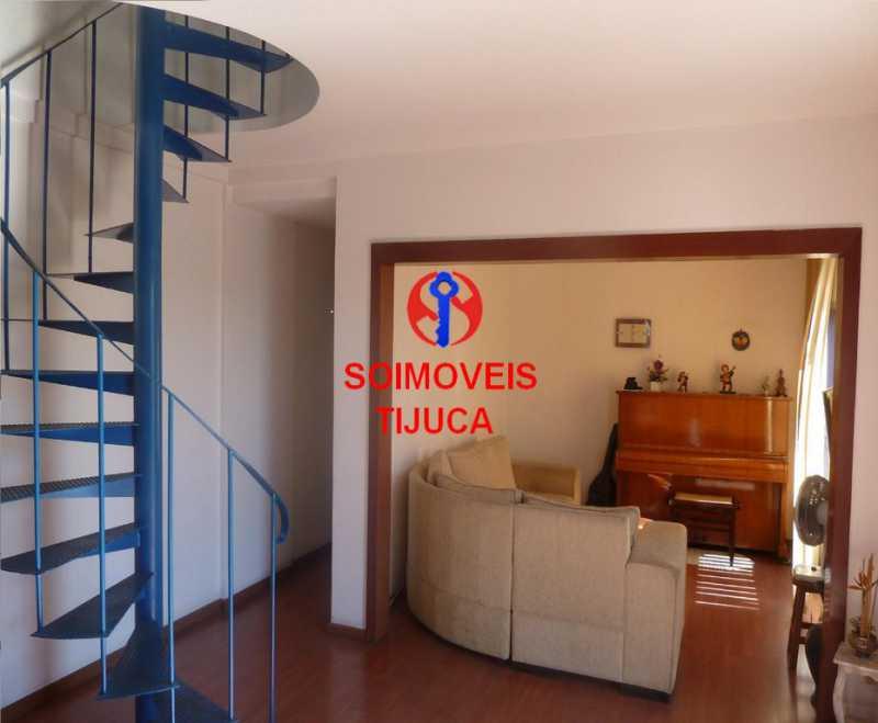 1-sl3 - Cobertura 2 quartos à venda Grajaú, Rio de Janeiro - R$ 780.000 - TJCO20023 - 4