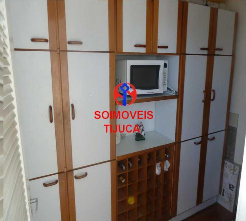 4-coz3 - Cobertura 2 quartos à venda Grajaú, Rio de Janeiro - R$ 780.000 - TJCO20023 - 16