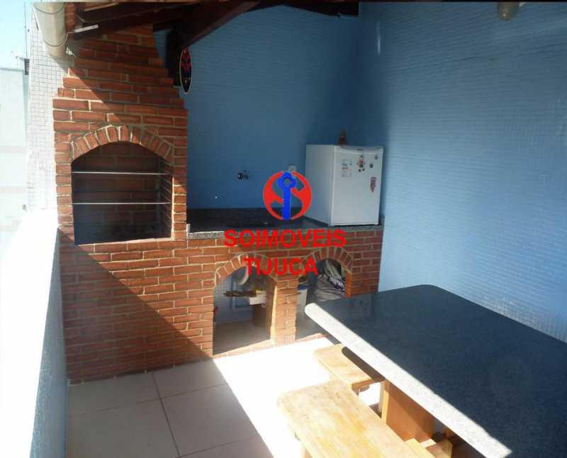 6-churras - Cobertura 2 quartos à venda Grajaú, Rio de Janeiro - R$ 780.000 - TJCO20023 - 19