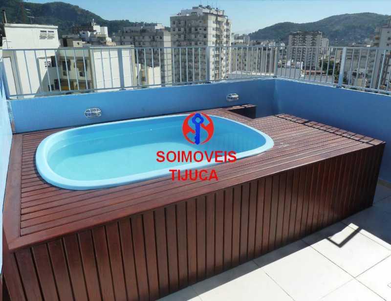 6-pisc - Cobertura 2 quartos à venda Grajaú, Rio de Janeiro - R$ 780.000 - TJCO20023 - 20