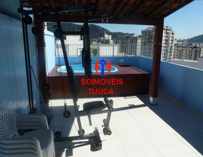 6-pisc2 - Cobertura 2 quartos à venda Grajaú, Rio de Janeiro - R$ 780.000 - TJCO20023 - 21