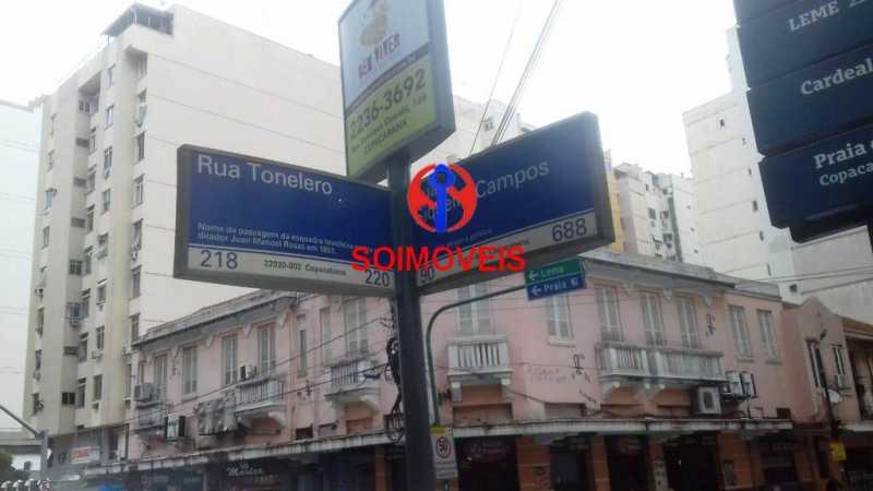 rua - Apartamento 2 quartos à venda Copacabana, Rio de Janeiro - R$ 840.000 - TJAP21173 - 23