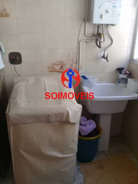 ÁREA DE SERVIÇO - Apartamento 3 quartos à venda Cachambi, Rio de Janeiro - R$ 420.000 - TJAP30525 - 13
