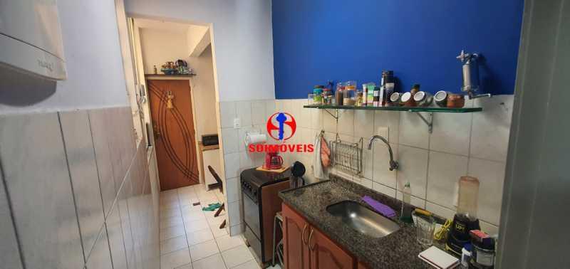 COZINHA  - Apartamento 1 quarto à venda Tijuca, Rio de Janeiro - R$ 430.000 - TJAP10260 - 6