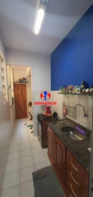 COZINHA  - Apartamento 1 quarto à venda Tijuca, Rio de Janeiro - R$ 430.000 - TJAP10260 - 7
