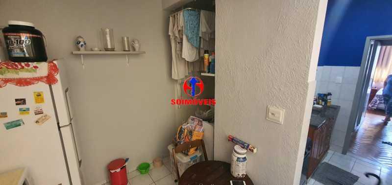 COZINHA E ÁREA DE SERVIÇO - Apartamento 1 quarto à venda Tijuca, Rio de Janeiro - R$ 430.000 - TJAP10260 - 9